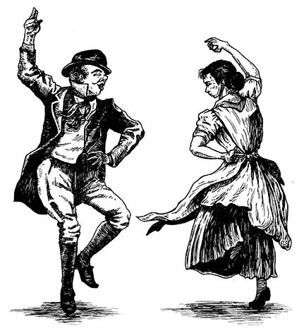 irish jig dance